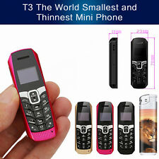 Smallest Mini Mobile Phone Bluetooth 3.0 Dialer Music FM Magic Voice Cell Phone