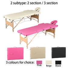 NEW Portable Folding Massage Table Beauty Salon Tattoo Therapy Couch Bed Beauty