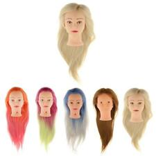 """26"""" Cosmetology Mannequin Training Head Model Salon Hair Styling Practice"""