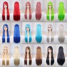Fashion Cosplay Hair Wig Women Long Straight Hair Party Anime Costume Full Wigs
