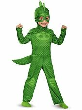 Disguise Gekko Classic Toddler Small Child PJ Masks Costume 2 Sizes