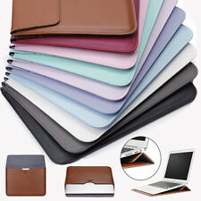 "For Macbook Air Retina 11""12""13 PU Leather Envelop Laptop Sleeve Carry bag Case"