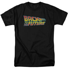 BACK TO THE FUTURE Movie Logo Officially Licensed Adult T-Shirt SM-5XL