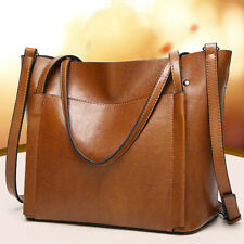 Women Leather Handbag Large Capacity Ladies Shoulder Crossbody Bag Tote Shopper