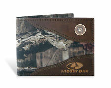 ZEP-PRO SHOTGUN SHELL MOSSY OAK Bifold Camo Wallet w/Tin Gift Box