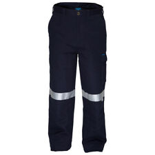 Prime Mover Cotton Drill Pants with Cargo Pockets and 3M Reflective Tape