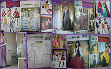 CHOOSE one miss Costume PATTERN sz 6-12; 14-24 Frozen Pirate Dance Hall Wicked