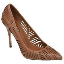 BCBGeneration Women's Ovation Dress Pump Pointed Toe Leather Cut out New Brown