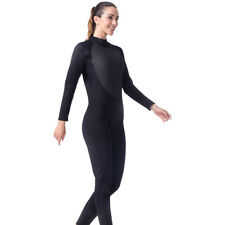 3mm Women One-piece Wetsuit Jumpsuit Water Sports Surfing Diving Scuba Suit