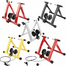 MAGNETIC INDOOR BICYCLE BIKE TRAINER EXERCISE STAND RESISTANCE LEVELS MODEL UK