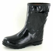 Festival,Rain,Snow Quilted Short Wellies Style Wellies Wellington Boots