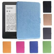 "Faux Leather Protective Shell Case Cover For 6"" Amazon Kindle Paperwhite 1/2/3"