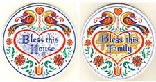 """16"""" Hex Sign Blessings by Ivan Hoyt choice of House or Family USA Made!!!"""