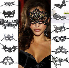 Sexy Women Black Lace Eye Face Mask Party Ball Prom Halloween Costume Party Mask