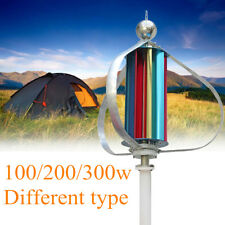 12V 100/200/300W Vertical Wind Turbine Generator with Windmill Charge Controller