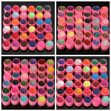 36 Color UV Glitter Polish Gel Builder Nail Art Manicure Decor Extension Acrylic