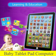 Kids Pad Computer Tablet Learning English Educational Interactive Touch Control