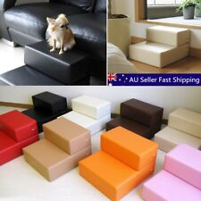 Pet Dog Cat 2 Steps Stair Portable Folding Stairs Climb Ramp Easy Up Ladder AU