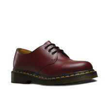 NEW Men DR. MARTENS Cherry Red 1461 SMOOTH 3 EYE GIBSON 1461 10078001