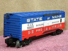LIONEL #6-19273 STATE OF MAINE BANGOR & AROOSTOOK CLASSIC 6464-275 BOX CAR NIB