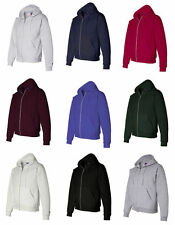 NEW! Mens Small, Large Authentic Champion Hoodie Zip up Jacket BLUE BLACK WHITE