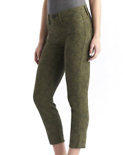 NWT ROCK & REPUBLIC Crop Capri Skinny Jeans Leggings CAMO Olive Green Camouflage