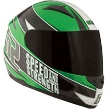 Speed And Strength Motorcycle Helmet SS1100 62 Sparkle Green