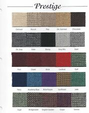 Prestige Tweed Upholstery Fabric for Automotive, Church, Other Free Shipping