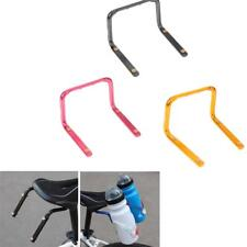 Bicycle Bike MTB Double Water Bottle Cage Holder Saddle Cycling Seat Adapter