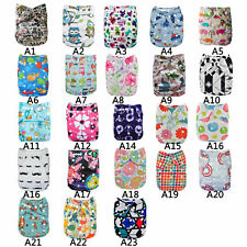 Washable Baby Cloth Diaper Waterproof Baby Diapers Reusable Cloth Nappy Suit