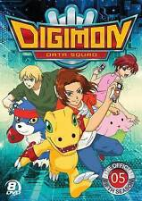 DIGIMON DATA SQUAD: THE OFFICIAL FIFTH SEASON 5 BRAND NEW!! SHIPS FAST!!
