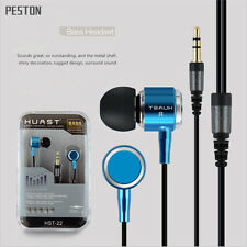 New 3.5mm In-Ear Headset Earphone Earbud Headphone For  Samsung iPhone iPod MP3