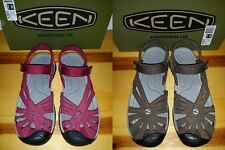 NEW Womens 7 7.5 8 Keen Rose Sandals Beet Red Cascade Brown