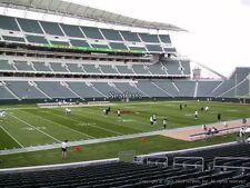 Cincinnati Bengals vs Detroit Lions Tickets - Sec 114 - Row 4