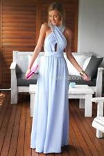 New women's The Perfect Date Multiway Maxi Dress (Baby Blue)