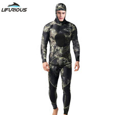 Men's Wetsuit 3mm Neoprene Men Camouflage 2pcs/set Jumpsuit Spearfishing WetSuit