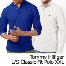Tommy Hilfiger Mens Classic Fit Long Sleeve Polo Shirt Size XXL New with Tag