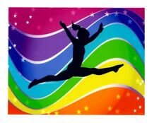 Gymnastics Birthday Frosting Sheet Cake Topper Edible Icing Image