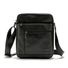 Fashion Men Genuine Leather Crossbody Shoulder Bag Business Messenger Bags Tote