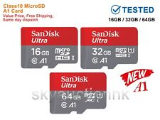 16/32/64GB Micro SD HC XC TF Flash Memory MicroSD Card Class10 NEW A1