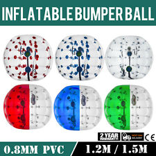 New Inflatable Bumper Ball Body Zorbing Ball Zorb Bubble Soccer/Football US