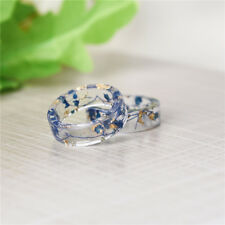 Resin Ring High Quality Dried Flower Fresh 1 Pcs Ring DIY Dried Flower Fashion
