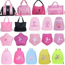 Kid Ballet Dance Bag Girl Dancer Ballerina Shoulder Bag Gymnastics Backpack Tote