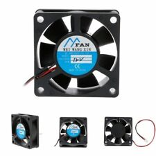 DC 5/12/24V 2-Pin Cooler Brushless Axial PC CPU Case Cooling Fan New