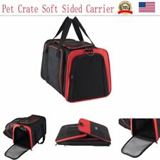 Dog Crate Soft Sided Pet Carrier Foldable Training Kennel Portable Cage House Re