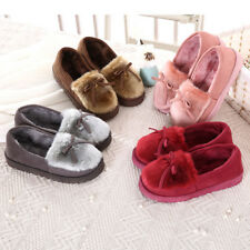 Women Plush Slippers Winter Autumn Soft Warm House Shoes Cute Indoor Slippers