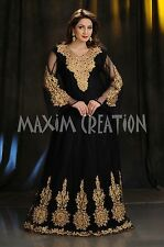 ELEGANT DUBAI FANCY CAFTAN ARABIAN THOBE MAXI BRIDAL WEDDING GOWN DRESS  4307