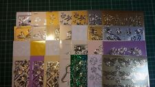 Choice of butterfly, fairy & dragonfly peel-off outline stickers