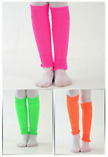 Ladies/Womens Neon Leg Warmers (1 Pair) (One Size) Many Colours Available