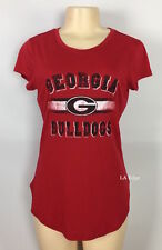 University of Georgia Shirt Bulldogs Tunic Tee Small Medium Georgia Football NEW